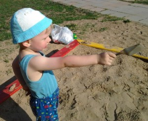 летний день, дети, детские площадки