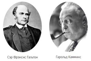 Гарольд Камминс, ученые, дерматоглифика, Френсис Гальтон,